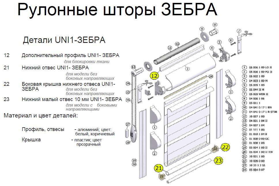 Инструкция По Монтажу Рулонных Штор